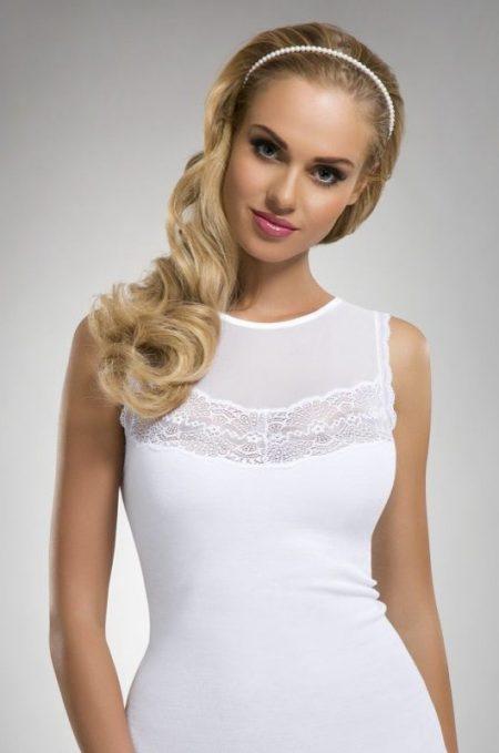 ZUZANNA - dámske bavlnené tielko značky Eldar