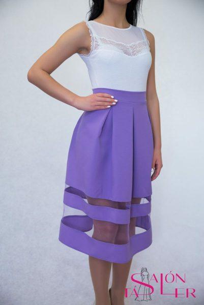 Elegantná rovná sukňa z dielne KTD STYLE