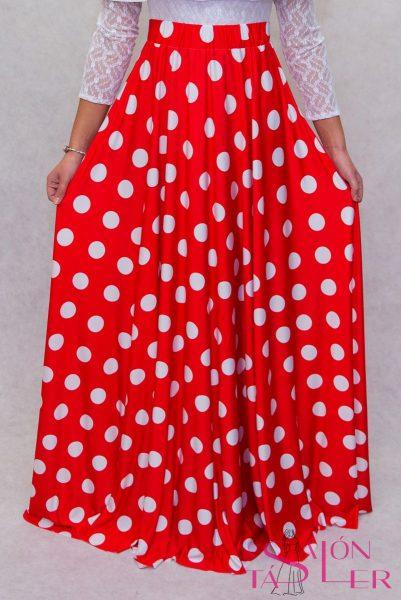 Dlhá sukňa guľkovaná z dielne KTD STYLE