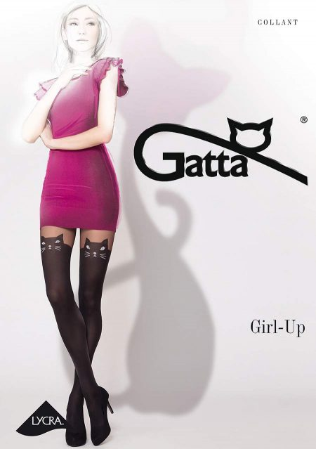 Pančuchy 20 DEN GATTA GIRL-UP CAT