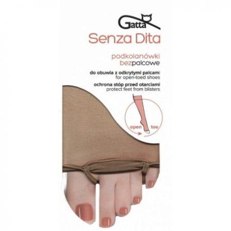 Podkolienky 15 DEN Senza Dita značky GATTA