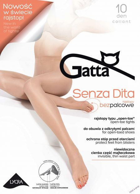 Pančuchy 10 DEN Senza Dita značky GATTA