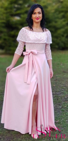 Zavinovacia kruhová sukňa z dielne KTD STYLE