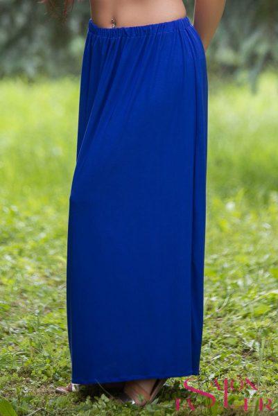 Úpletová rovná sukňa zdielne KTD STYLE