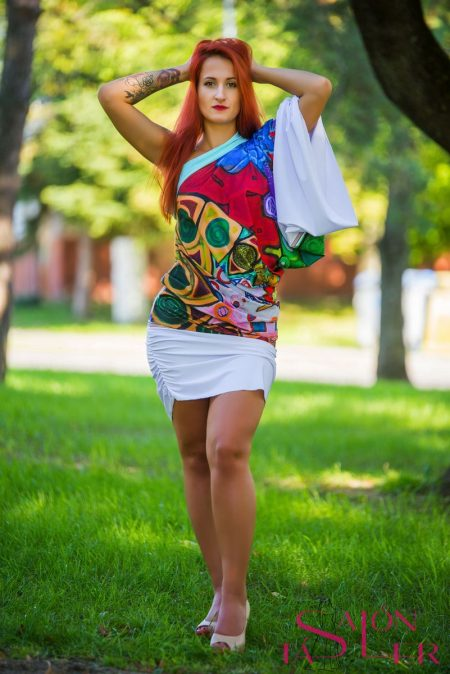ŠATY LEMINX - avangardné šaty z dielneKTD STYLE