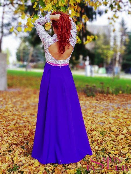 Šaty LACE BLUE z dielne KTD STYLE