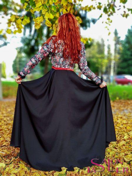 Šaty LACE BLACK z dielne KTD STYLE
